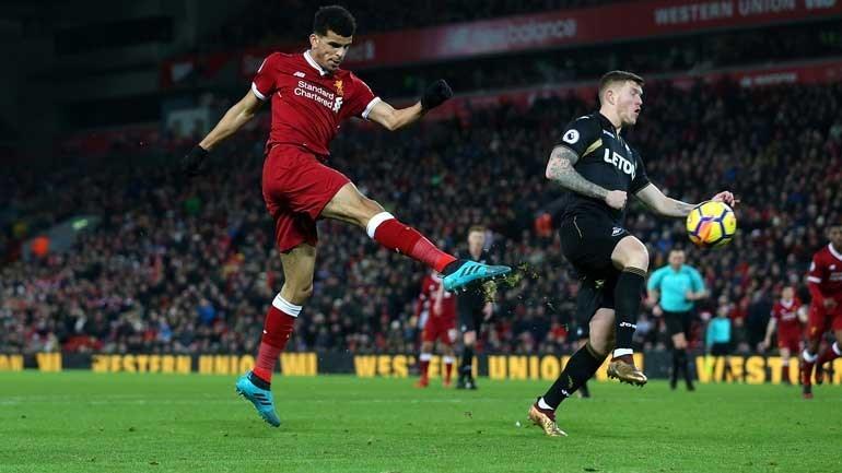 Swansea de Carlos Carvalhal vence Liverpool