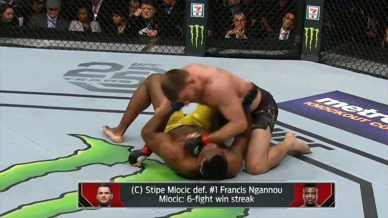 UFC 220: Nem Ngannou conseguiu destronar Miocic