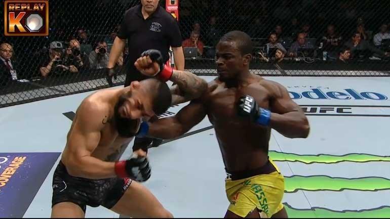 UFC 220:Alhassan 'apagou' Sabah Homasi com uppercut sensacional