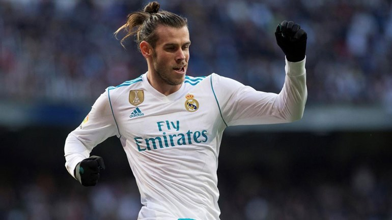 Bale após bisar frente ao Corunha:
