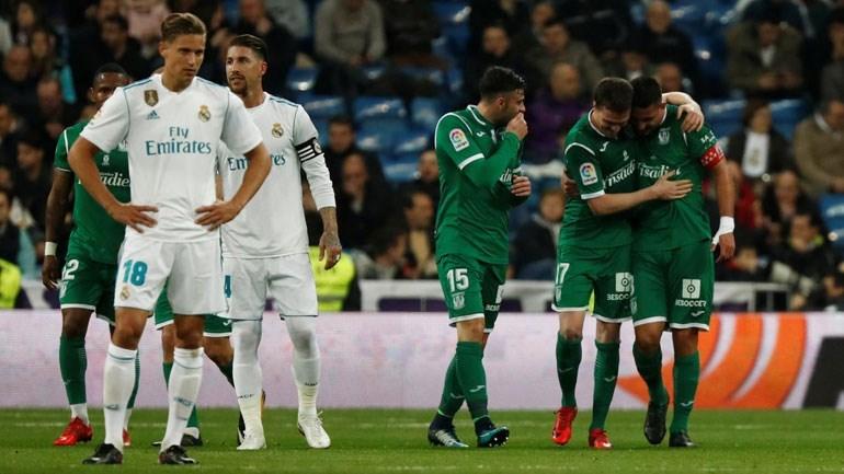 Real Madrid eliminado em casa pelo Leganés na Taça do Rei