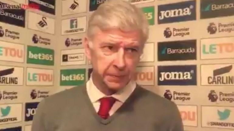 Arsenal mete Wenger no ar a confirmar Aubameyang... e depois apaga vídeo