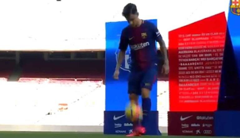 'Senhor milhões' já mostra o que pode fazer no Barcelona