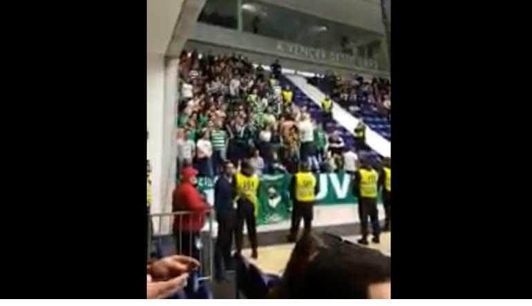 Cântico dos adeptos do Sporting no Dragão Caixa gera polémica