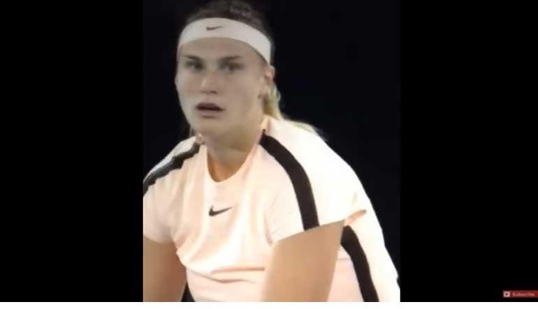 Público australiano goza com gritos de tenista bielorrussa