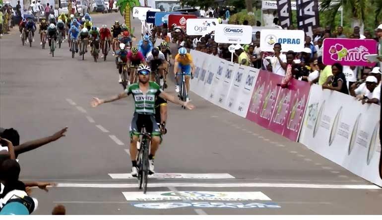 Assim foi a vitória do sportinguista Nocentini no Gabão