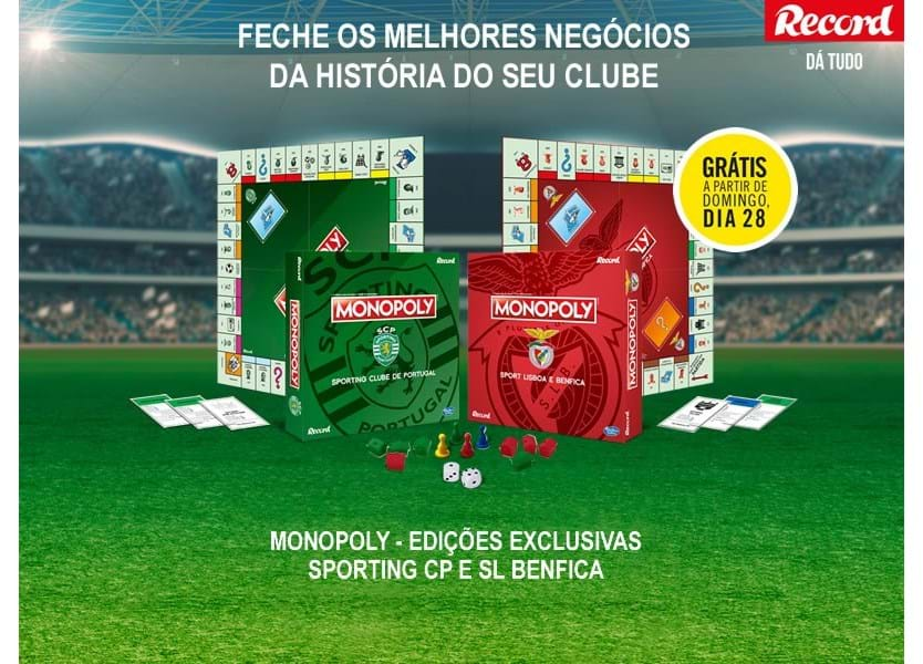 Monopoly do Sporting e do Benfica