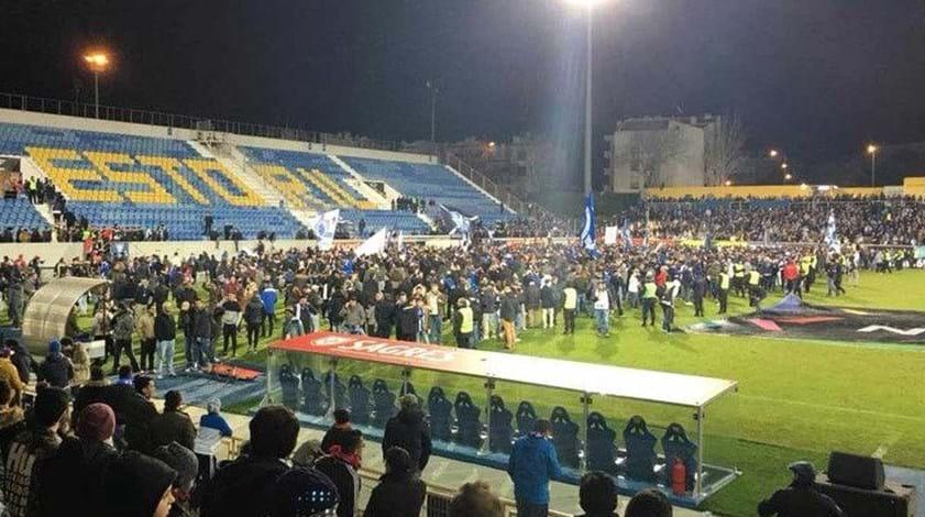 UEFA autoriza segunda parte do Estoril-FC Porto em 21 de fevereiro