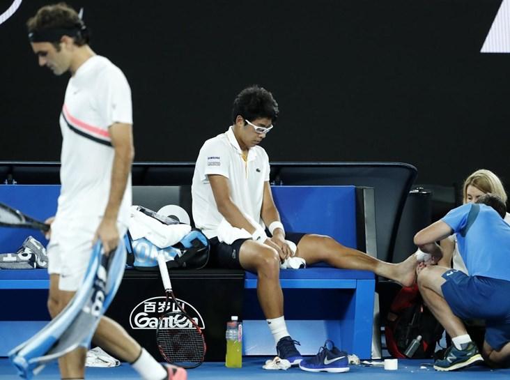 Open da Autrália: Federer na final por desistência de Hyeon Chung