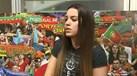 Cláudia Bradstone: Dos Power Rangers para os ringues…