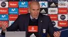 Zidane e os assobios a Benzema: «As pessoas fazem o que quiserem»