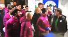 Guardiola pegou-se com o treinador do Wigan ao intervalo