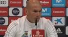 Zidane fez 'mea culpa' na humilhação a Ceballos