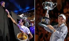 As histórias que explicam o sucesso de Roger Federer e Caroline Wozniacki