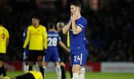 Chelsea goleado em casa do Watford