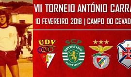 Torneio António Carraça volta a juntar Benfica e Sporting em Vila Franca de Xira
