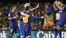 Barcelona triunfa em Valencia e está na final da Taça do Rei