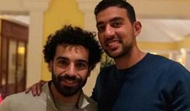Hassan encontrou-se com Salah no Porto