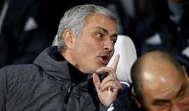Mourinho: «Tive de dizer umas 20 vezes aosmeus adjuntos para se calarem...»