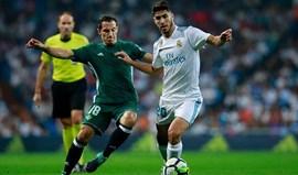Betis-Real Madrid, 0-0 (1.ª parte)