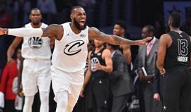 All Star Game: LeBron e amigos vencem equipa de Curry