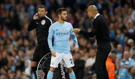 Guardiola deixa garantia: «Enquanto eu aqui estiver, Bernardo Silva não sai»