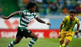 Tondela-Sporting, em direto