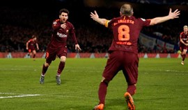 Messi deixa a sua marca em Stamford Bridge