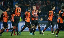 Shakhtar Donetsk dá a volta e bate Roma em Kharkiv