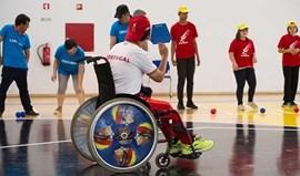 Família paralímpica reunida em Braga