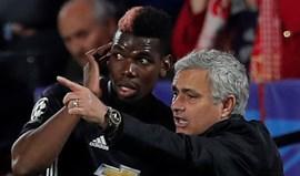 Mourinho chamou Pogba ao gabinete e explodiu: «'I'm the boss'»
