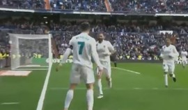 Ronaldo marcou em dose dupla na vitória frente ao Alavés
