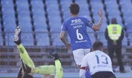 A crónica do Belenenses-Feirense (1-0) - SMS dos da frente: 'merci' Sasso!