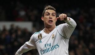 Cristiano Ronaldo com razões para sorrir frente à Real Sociedad