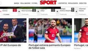Ricardinho e a vitória portuguesa vista pelos espanhóis