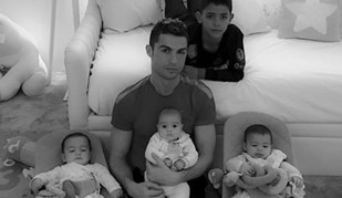 Cristiano Ronaldo não esquece o drama dos refugiados num apelo com os filhos