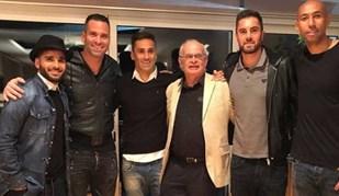 Um 'toca a reunir' de caras bem conhecidas do Benfica
