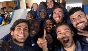 A festa do FC Porto no Estoril