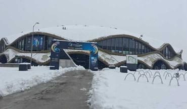 Neve 'visitou' Seleção de futsal na Eslovénia