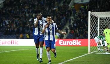 FC Porto desfaz empate histórico com Sporting e passa a ter mais uma vitória