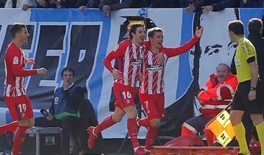 Atlético Madrid vence Málaga com golo 'madrugador' de Griezmann
