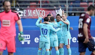 Barcelona de regresso às vitórias