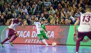 Sporting avança na Taça de Portugal