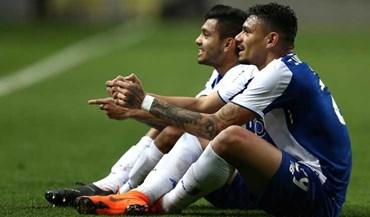 Soares e Corona 'jogaram' PlayStation após o segundo golo do FC Porto