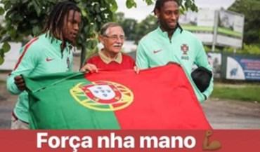 Renato Sanches manda mensagem de apoio a Rúben Semedo