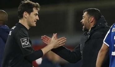 Conceição reage ao tweet de Casillas sobre golo tardio do Sporting
