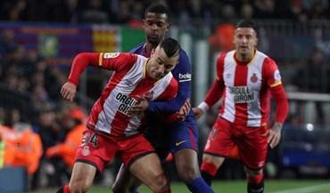 Barcelona confirma paragem de cinco semanas de Nélson Semedo
