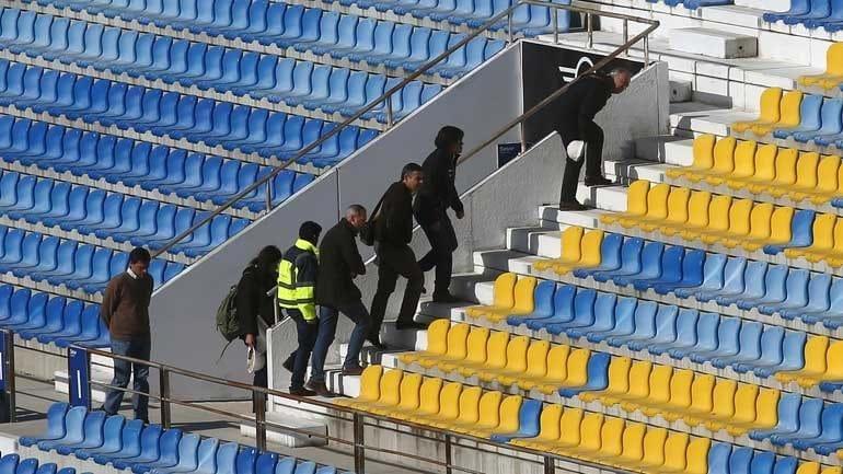 Liga reabre bancada do Estádio do Estoril