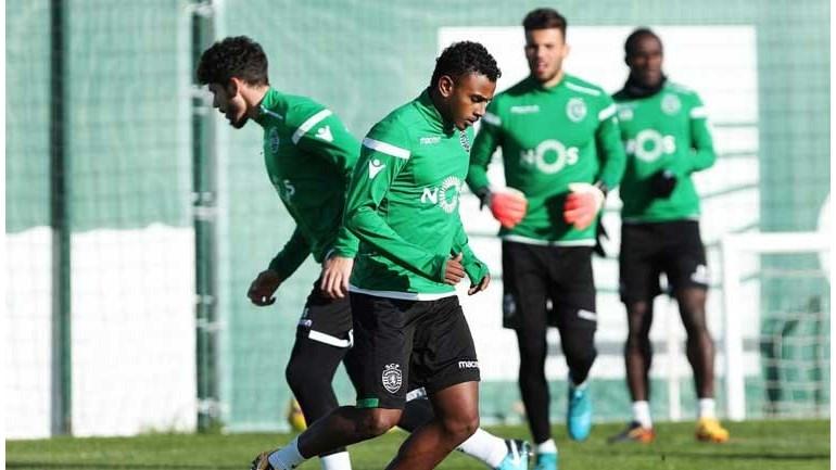 Misic, Wendel e Lumor fora da lista para a Liga Europa — Sporting