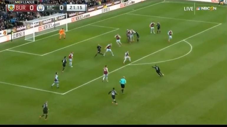 Tiraço de Danilo desbloqueou partida em Burnley
